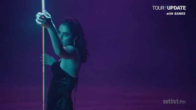 BANKS Discovers Her Newfound Love for Movement on Stage